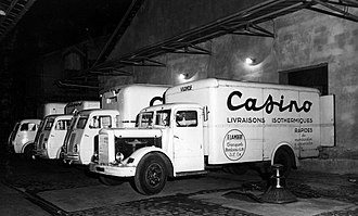 Groupe Casino - Since 1952, Groupe Casino has implemented a cold chain system