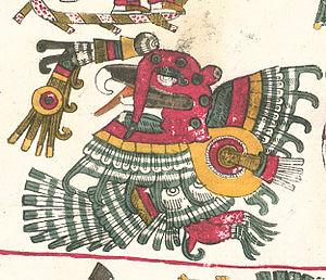 Chalchiuhtotolin - Codex Borgia