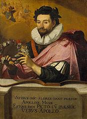 Portrait de Jean de Caulet en Apollon couronné