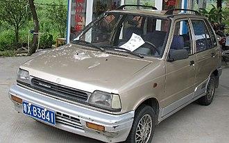 Changan Automobile - Chang'an Suzuki SC7080 Alto