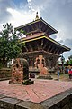 Changu Narayan Temple from Bhaktapur.jpg
