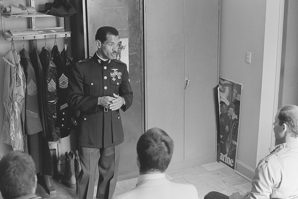 Charles F. Bolden Jr., Astronaut, USMC, public speaking DM-SN-85-10497.JPEG