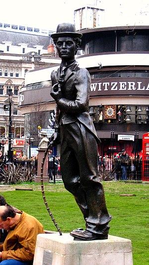 Statue of Charlie Chaplin, London - Image: Charlie Chaplin 2207447904