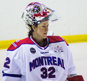 Charline Labonté - Labonté during a Montreal Stars game in November 2014