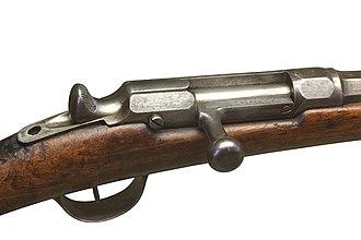 Chassepot - Chassepot bolt mechanism