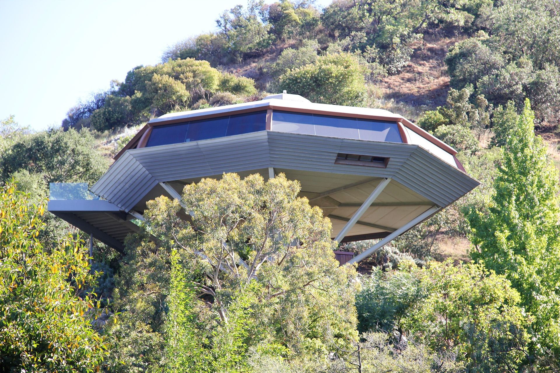 Hollywood Hills Modern Home Chemosphere by John Lautner