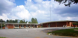 Cherokee Middle School - Cherokee Middle School in September 2007