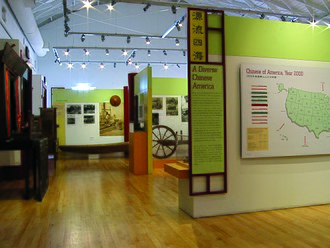 Chinese Historical Society of America - Historical exhibit