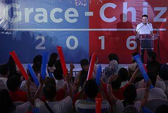 Francis Escudero - Chiz Escudero declares vice presidential bid, September 18, 2015