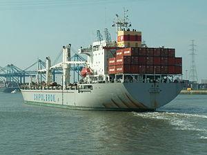 Chong Ming astern Port of Antwerp 30-Aug-2005.jpg