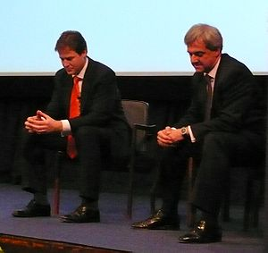 Liberal Democrats leadership election, 2007 - Nick Clegg and Chris Huhne