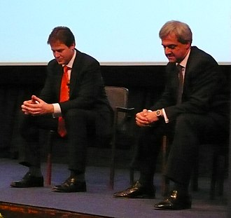 2007 Liberal Democrats leadership election - Nick Clegg and Chris Huhne