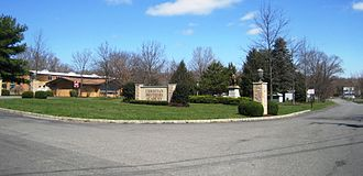 Christian Brothers Academy (New Jersey) - Entrance to the school