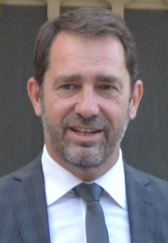 Minister of the Interior (France) - Image: Christophe Castaner 2017