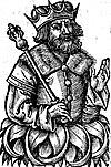 Воображаемое изображение Семомысла в Chronica Polonorum