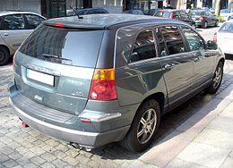 Chrysler Pacifica 4.0L AWD Facelift Heck.JPG