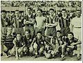 Chuenga con el equipo de fútbol Pampero de 1951.JPG