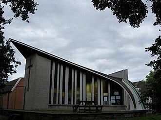 Blackheath High School - Image: Church Army chapel 018