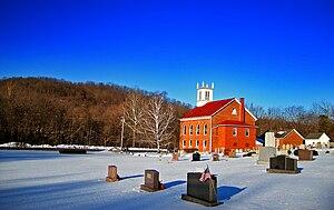 Lenhartsville, Pennsylvania - A winter day in Lenhartsville