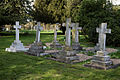 Church of St Mary and St Christopher, Panfield - Panfield Hall Newman family graves.jpg
