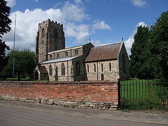 St Peter and St Paul's Church, Shelford - Image: Church of St Peter and St Paul, Shelford geograph.org.uk 936839