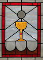 Church of the Ascension (Johnstown, Ohio) - stained glass, The Eucharist.jpg