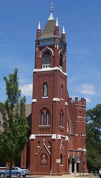 Murray, Kentucky -  First Christian Church, established in 1844