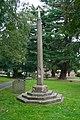 Churchyard cross in Great Malvern Priory churchyard.jpg