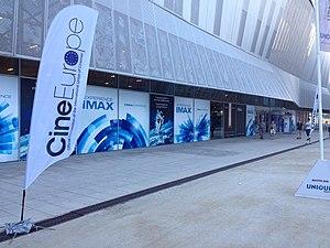 CineEurope - Entrance to the Centro de Convenciones Internacional de Barcelona, Spain at the 2015 CineEurope