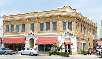 National Register of Historic Places listings in Appling County, Georgia - Image: Citizens Banking Company, Baxley, GA, US