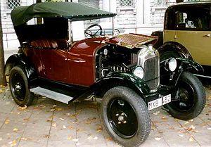 Citroën Type C - Citroën 5 CV Type C3 Torpedo 1925