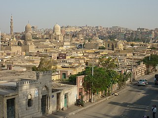City of the Dead (Cairo) cemetery in Egypt