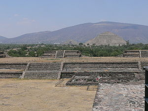 Pyramid of the Sun - Pyramid of the Sun in Teotihuacan