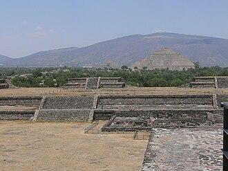 Pyramid of the Sun - Pyramid of the Sun in Teotihuacan