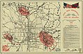 Civil War Centennial, city of Atlanta - showing the area of the three major engagements and deployment of Union and Confederate forces during the summer of 1864 LOC 79695133.jpg