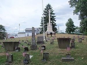 Union Cemetery-Beatty Park - The Civil War memorial