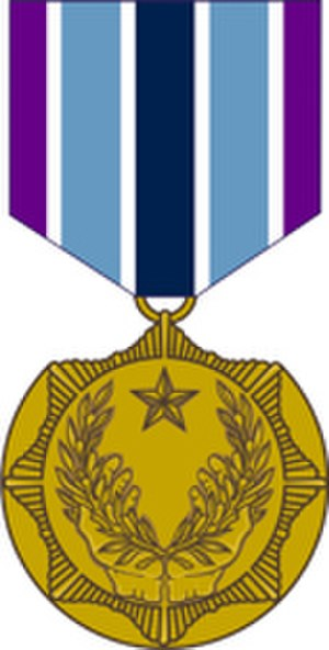 Department of the Army Civilian Awards - Image: Civilian Award for Humanitarian Service Medal