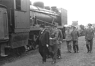 South African Class 4A 4-8-2 - Armoured Class 4AR no. 1554, 1942