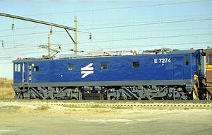 2001 in South Africa - Class 7E4