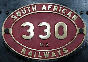 South African Class H2 4-8-2T - Image: Class H2 330 (4 8 2T) IDR