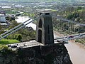 Clifton Suspension Bridge, from the Camera Obscura - geograph.org.uk - 1579558.jpg