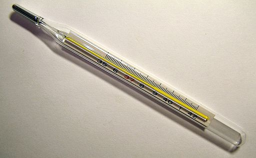Clinical thermometer 38.7