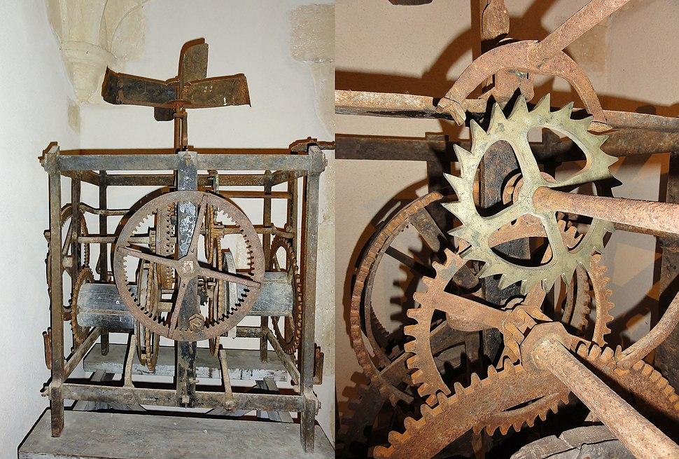 Clock machine 16th century-Convent of Christ,Tomar, Portugal