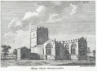 Clynog Church, Caernarvonshire