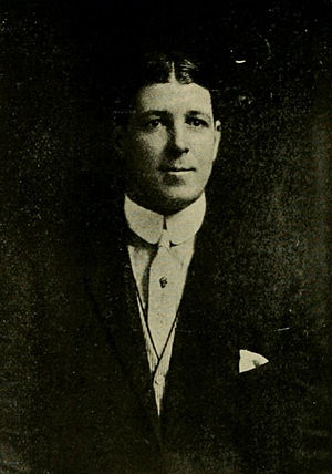 Byron W. Dickson - Dickson pictured in The Epitome 1910, Lehigh yearbook