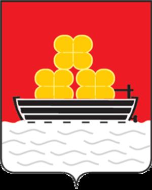 Babushkin (town) - Image: Coat of Arms of Babushkin (Buryatia)