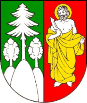 Čadca railway station - Image: Coat of arms of Čadca