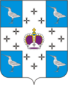 Coat of arms of Kulikovskoe (Moscow oblast).png