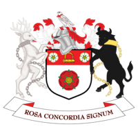Coat of arms of Northamptonshire County Council