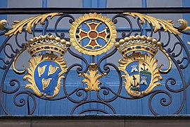 Coats of arms, balcony of Capitole of Toulouse 15.JPG